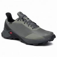 Αδιάβροχα Παπούτσια Salomon Alphacross GTX Castor Gray Ebony Black 408055