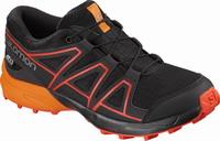 Αδιάβροχα Παιδικά Παπούτσια Salomon Speedcross J Black/Orange 404812