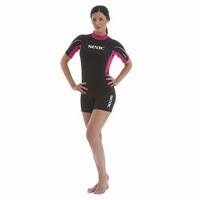 Στολή Monoshorts Γυναικεία Seac Sub M.Corto Relax Black 2.2mm 00100883820