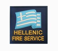 Σήμα Λιμενικού Survivors Σημαία Hellenic Fire Service 3D 00337
