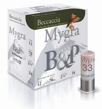 Φυσίγγια B&P Mygra Beccaccia Μάλλινη Τάπα 34gr