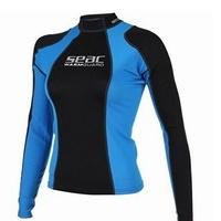 Γυναικεία Μπλούζα Neopren Seac Sub Warm Guard Long 0,5mm Black/Blue 1550006002025