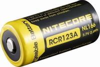 Επαναφορτιζόμενη μπαταρία NITECORE RCR123A Li-ion 650 mAh 3.7V