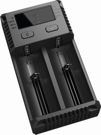 Ψηφιακός Ταχυφορτιστής Δύο Θέσεων Nitecore Intellicharger New i2EUCharger