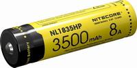Επαναφορτιζόμενη μπαταρία Νitecore NL1835HP 8A 3500mAh