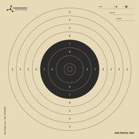 Χάρτινοι Στόχοι Σκοποβολής Flip Target Διαστάσεων 14Χ14cm 100τμχ 3.2098
