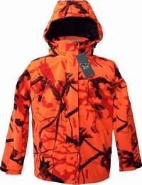 Αδιάβροχη Ζακέτα Softshell Aetos Camo Orange A70