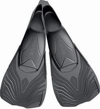 Πέδιλα Κολύμβησης Με Κοντό Πτερύγιο Seac Sub Vela Black 07100465204