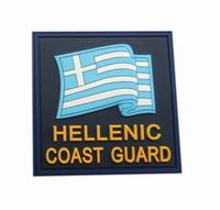 Σήμα Λιμενικού Survivors Σημαία Hellenic Coast Guard 3D 00337