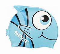 Παιδικό Kολυμβητικό Σκουφάκι Σιλικόνης Seac Sub Fancy JR Blue 1520027