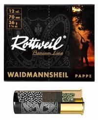 Φυσίγγια Μάλλινη Τάπα Rottweil Waidmannsheil Pappe 36gr