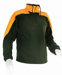 Μπλούζα Fleece Bicolor UNIVERS Χακί-Πορτοκαλί 94102-392