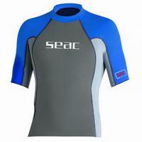 Παιδικό Κοντομάνικο Μπλουζάκι Με Προστασία UV+40 Seac Sub Raa Short Evo Kid Blue/Grey 1550003003213