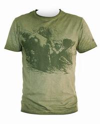 Μπλουζάκι T-Shirt UNIVERS Σέττερ Χάκι 94470