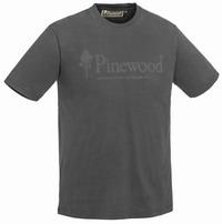 Κοντομάνικο Μπλουζάκι T-shirt Pinewood Outdoor Life Dark Anthracite 5445-443
