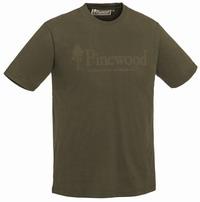 Κοντομάνικο Μπλουζάκι T-shirt Pinewood Outdoor Life Olive 5445-713