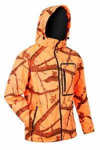 Τζάκετ Αδιάβροχο Softshell Toxotis Camo Orange 1007C