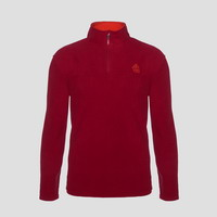 Μπλούζα Fleece Berg Sweater Kluane Half Zip Men Red 80103