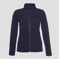 Γυναικεία Ζακέτα Fleece Berg Jacket Kluane Full Zip Women Black 80102