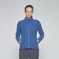 Γυναικεία Ζακέτα Fleece Berg Jacket Kluane Full Zip Women Blue 80102