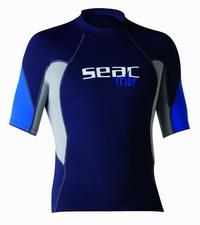 Μπλουζάκι Με Προστασία UV+50 Seac Raa Short Evo Blue 1550003000025