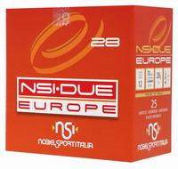 Σκοπευτικά Φυσίγγια NSI Due Europe No8.5 28gr 25τμχ