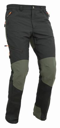 Παντελόνι Apu Lava Stretch Black/Green 80502