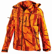 Αδιάβροχο Μπουφάν Univers Wild Boar U-Tex Orange Camo 91800-051