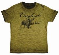 Μπλουζάκι T-Shirt UNIVERS Αγριογούρουνο Χάκι 94780