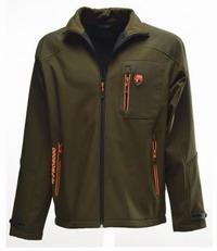 Αδιάβροχη Ζακέτα Univers Cardigan Softshell Tex Olive/Orange 9674-392