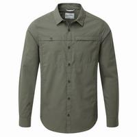 Πουκάμισο Craghoppers Kiwi Trek Long Sleeved Shirt Parka Green CMS477-1ZJ