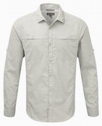 Πουκάμισο Craghoppers Kiwi Trek Long Sleeved Shirt Beige CMS477-70U