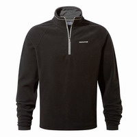 Μπλούζα Fleece Craghoppers Selby Half Zip Black Hof CMA1183-800
