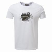 Μπλουζάκι T-Shirt CRAGHOPPERS EASTLAKE SS TEE CMT843 WHITE