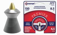 Βλήματα Αεροβόλου CROSMAN GOLD TIPPED 4.5mm 150Tεμ