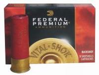 """Φυσίγγια Δράμια Federal Vital Shok 10Βολα 3"""" Magnum P158"""