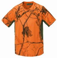Μπλουζάκι T-Shirt Pinewood Ramsey Camo Orance 8459