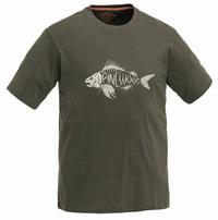 Μπλουζάκι T-SHIRT PINEWOOD FISH Χακί 5416