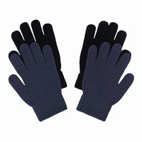 Παιδικά Γάντια Ice Peak IVY Junior Magic Gloves 2-Pack Black/Blue 52855300-260