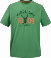 Μπλουζάκι Τ-shirt SCHOFFEL ERNEST GREEN