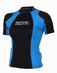 Γυναικείο Κοντομάνικο Μπλουζάκι Neopren Seac Sub Warm Guard Short 0,5mm Black/Blue 1550005002025