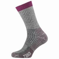 Κάλτσες TEKO WOMENS MIDWEIGHT HIKING Μώβ (9944)