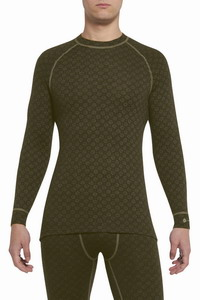 Ισοθερμικό Μπλουζάκι Thermowave 180 Merino Warm Shirt LS Olive 411-780