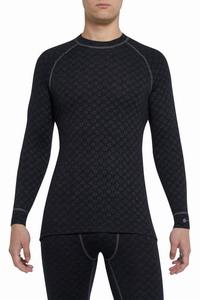 Ισοθερμικό Μπλουζάκι Thermowave 220 Merino Xtreme Shirt LS Black 411-990