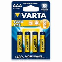 Varta Longlife 1.5V AA-LR6 (4 τμχ)