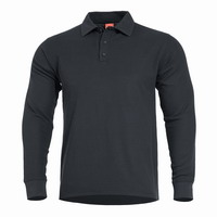 Μπλουζά ANIKETOS LONG POLO K09013 Black