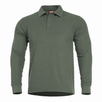 Μπλουζά Pentagon Aniketos Long Polo Gamo Green K09013-06