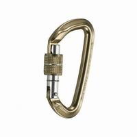 """Καραμπίνερ Ασφαλείας CAMP SCREW """"D"""" ORBIT BET LOCK GHIERA 8-32-501"""