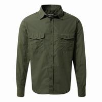 Πουκάμισο CRAGHOPPERS KIWI LONG-SLEEVED SHIRT Green CMS338