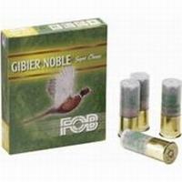 """Φυσίγγια Μάλλινη Τάπα Fob Gibier Noble Super Classe 38gr 2¾"""" 12/70mm"""